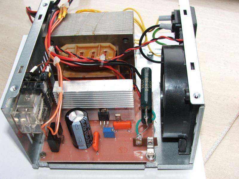 Schema Elettrico Per Carica Batterie Al Litio : Desolfatore